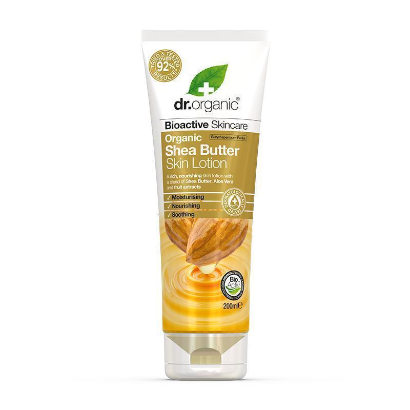 Shea Butter Skin Lotion 200ml - Dr Organic