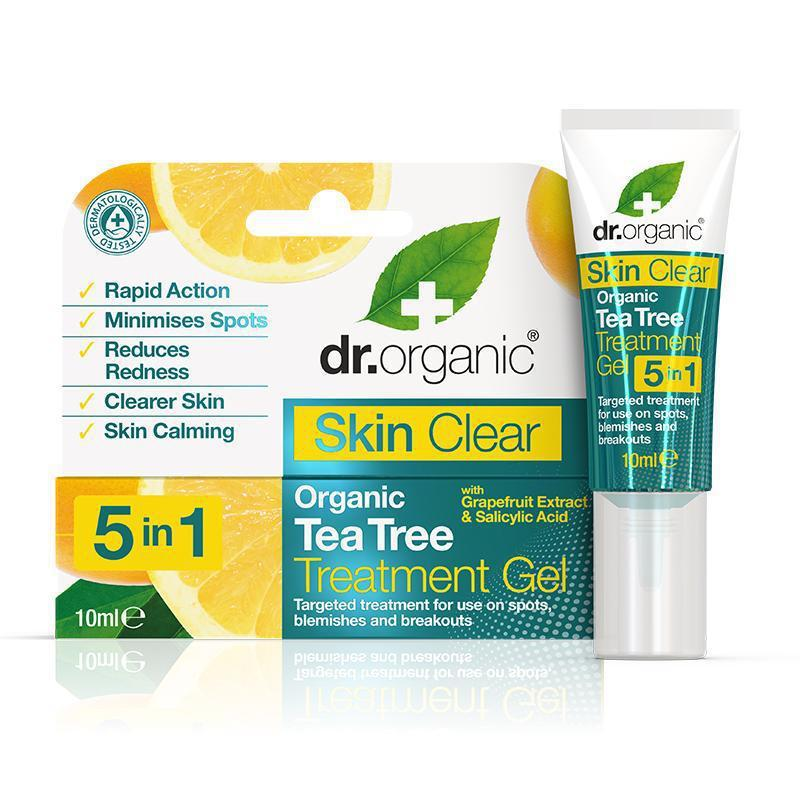 Skin Clear 5 in 1 Treatment Gel 10ml - Dr Organic