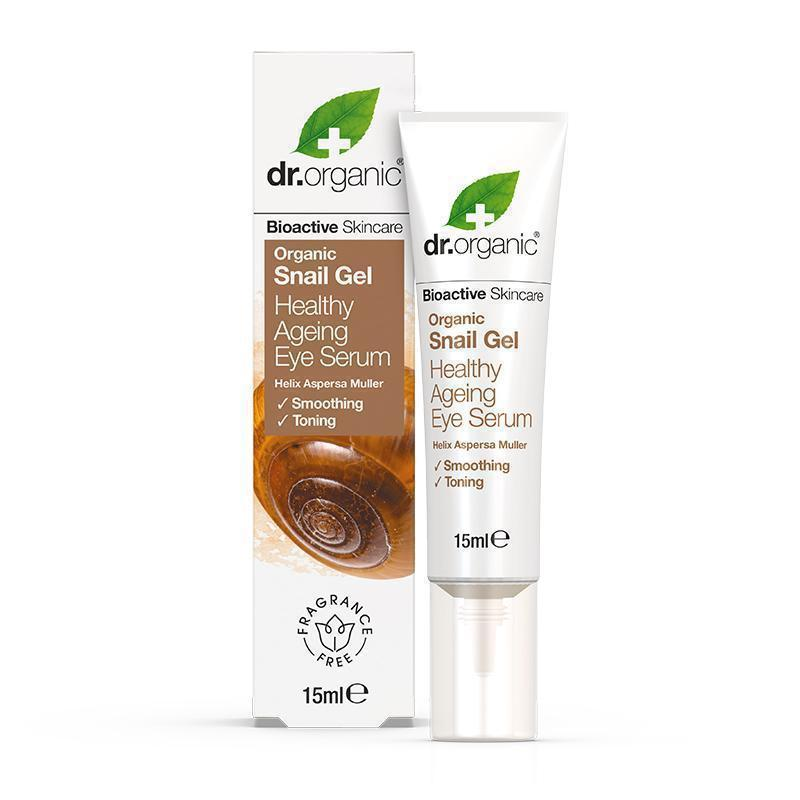 Snail Gel Eye Serum 15ml - Dr Organic