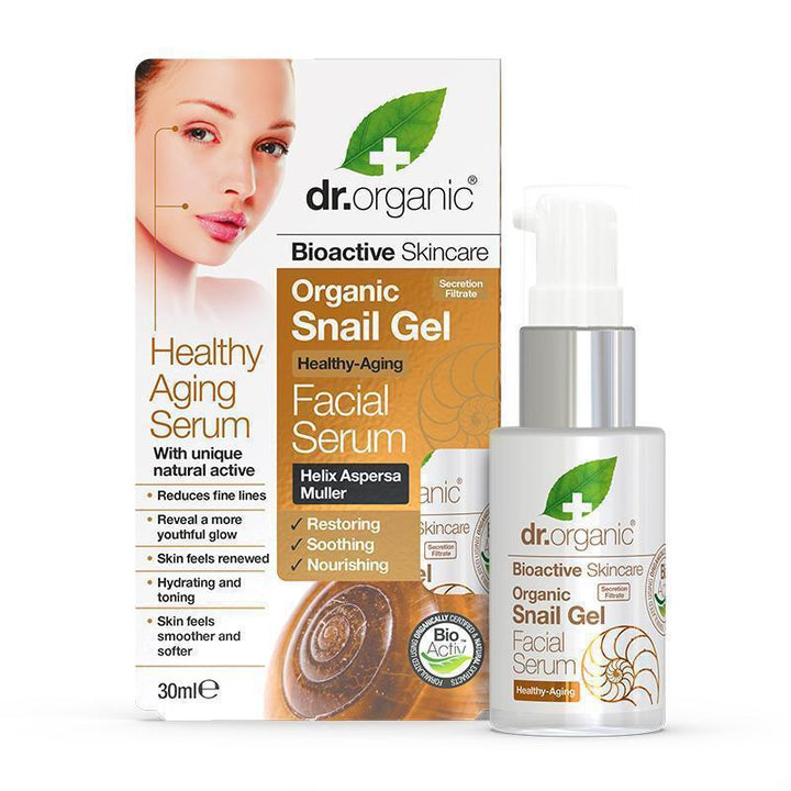 Snail Gel Facial Serum 30ml - Dr Organic