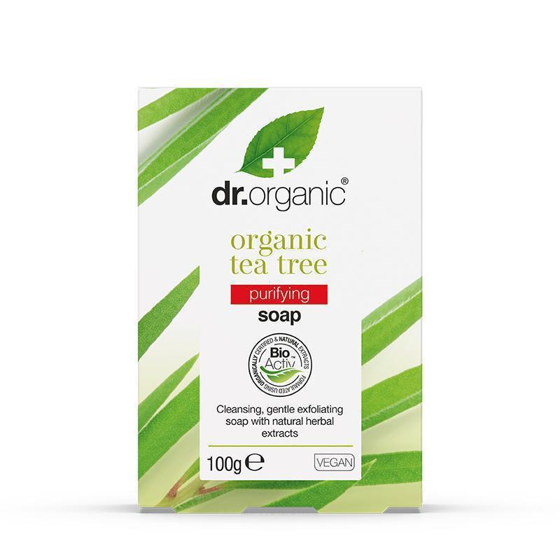 Tea Tree Soap 100g - Dr Organic