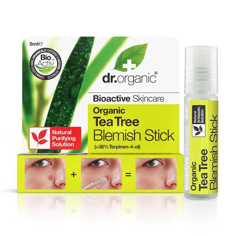 Tea Tree Blemish Stick 8ml - Dr Organic