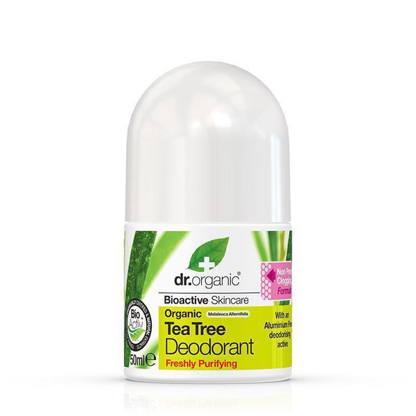 Tea Tree Deodorant 50ml - Dr Organic