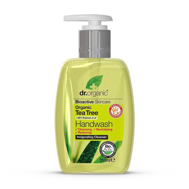 Tea Tree Handwash 250ml - Dr Organic