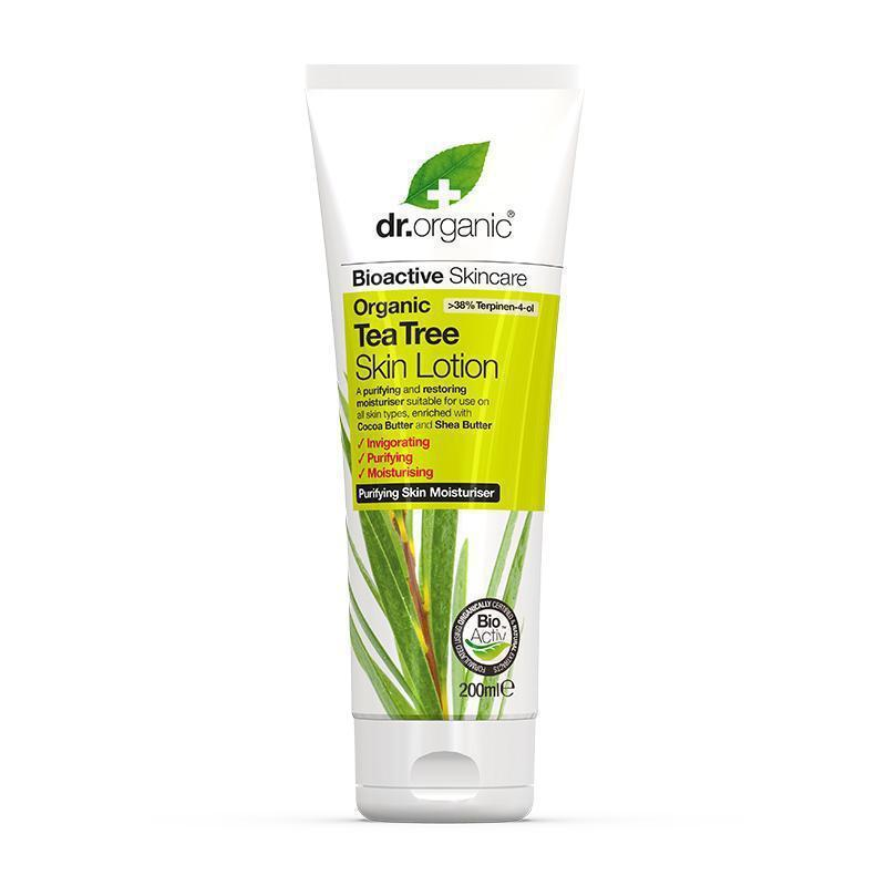 Tea Tree Skin Lotion 200ml - Dr Organic