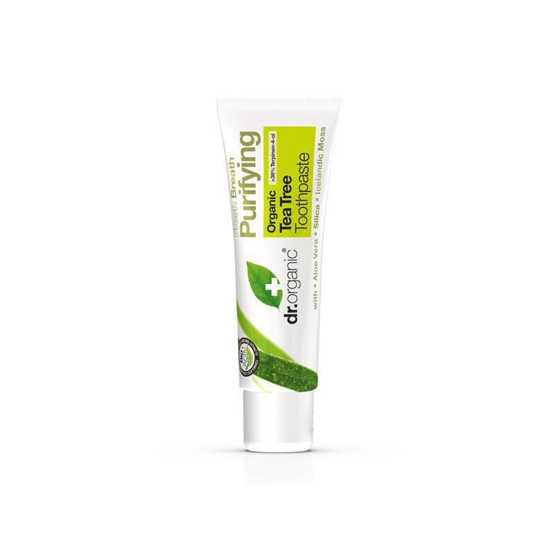 Tea Tree Toothpaste Travel Size 20ml - Dr Organic