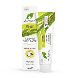Tea Tree Toothpaste 100ml - Dr Organic