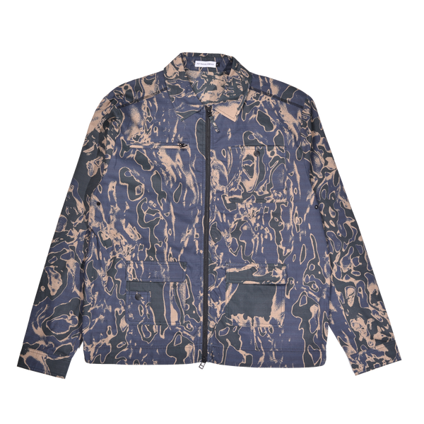 Jacket - SAFE-TRIP.ORG/POP Shirt (Trippy Camo)
