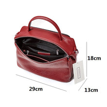 Load image into Gallery viewer, Women's genuine cowhide leather handbag Kabelky design by Tomorrow Closet