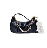 Women's genuine cowhide leather handbag Ingot chain design by Tomorrow Closet