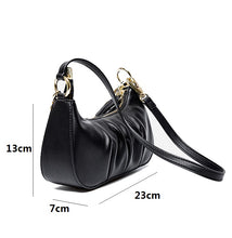 Load image into Gallery viewer, Women's genuine cowhide leather handbag Ingot chain design by Tomorrow Closet