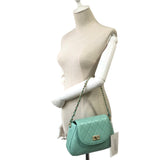 Women's genuine lambskin leather handbag Sternite design with 2 straps by Tomorrow Closet