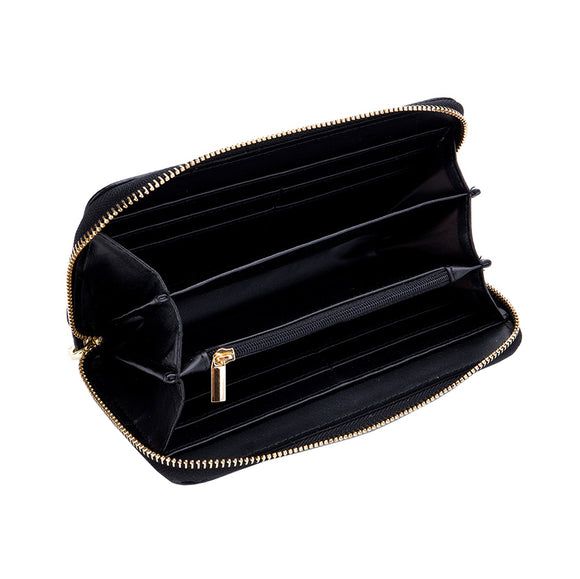 Women's genuine cowhide leather Handbag Perry design in crocodile print by Tomorrow Closet