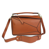 Women's Genuine cowhide leather handbag Trika design by Tomorrow Closet