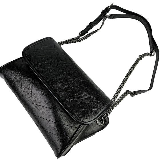 Women's genuine cowhide leather handbag Wing design Messenger bag by Tomorrow Closet
