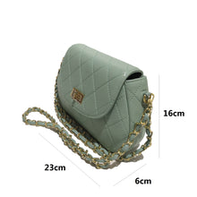 Load image into Gallery viewer, Women's genuine lambskin leather handbag Sternite design with 2 straps by Tomorrow Closet