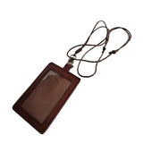 Unisex genuine cowhide leather lanyard by Tomorrow Closet