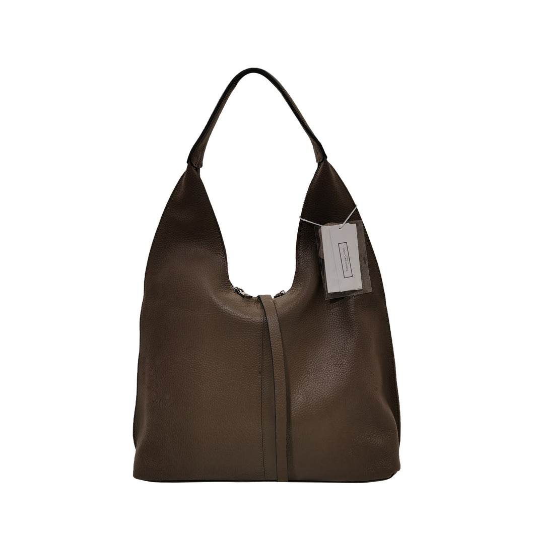 Women's genuine cowhide leather Hobo handbag Dilla design by Tomorrow Closet