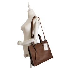 Load image into Gallery viewer, Women's genuine cowhide leather handbag Potter V2 design by Tomorrow Closet