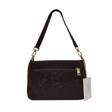 Load image into Gallery viewer, Women's genuine cowhide leather handbag Sternite Floral V2 design by Tomorrow Closet