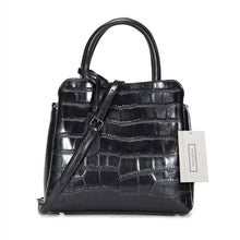 Load image into Gallery viewer, Women's genuine cowhide leather handbag in crocodile print Barbara design by Tomorrow Closet