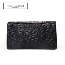 Load image into Gallery viewer, Women's lambskin leather crossbody handbag Vyar floral design by Tomorrow Closet