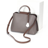 Women's genuine cowhide leather handbag Kunis design by Tomorrow Closet