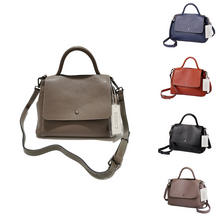 Load image into Gallery viewer, Women's genuine cowhide leather handbag Ingrid design by Tomorrow Closet