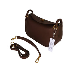 Load image into Gallery viewer, Women's genuine cowhide leather handbag Two Handle V2 design with two removable strap by Tomorrow Closet