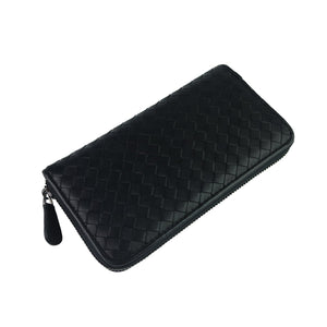 Women's and Men's unisex lambskin handwoven wallet/purse V2 by Tomorrow Closet