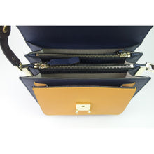 Load image into Gallery viewer, Women's genuine cowhide leather handbag Derie V2 design with adjustable strap by Tomorrow Closet