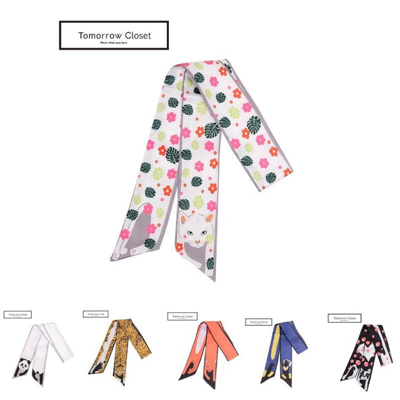 Limited Edition Animal Collection Scarf by Tomorrow Closet