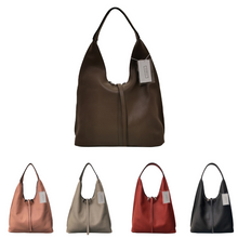 Load image into Gallery viewer, Women's genuine cowhide leather Hobo handbag Dilla design by Tomorrow Closet