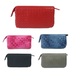 Women's lambskin handwoven chain wallet/purse/clutch