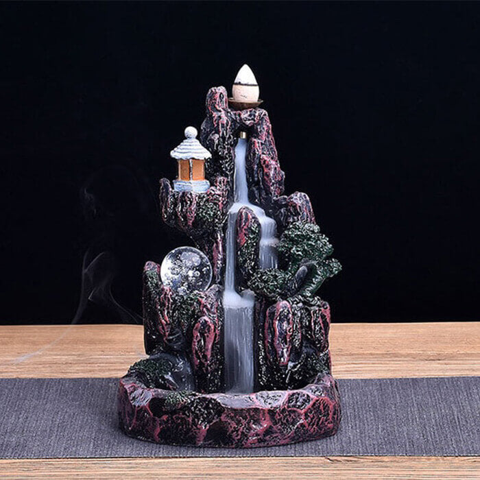 Hidden Waterfall Backflow Incense Burner