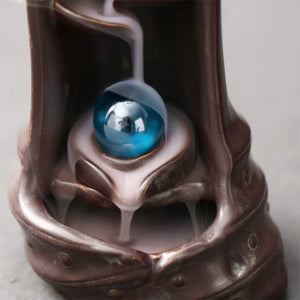 Mystic Waterfall Backflow Incense Burner
