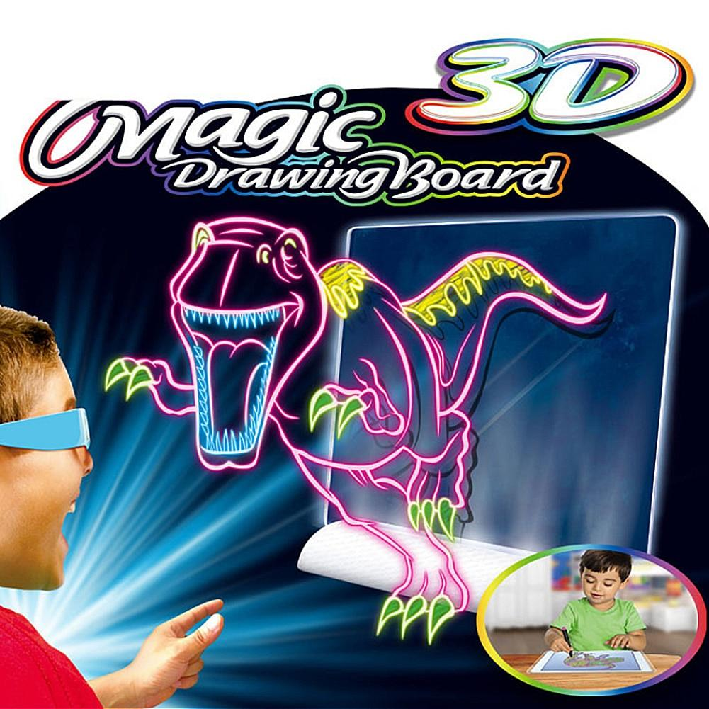 3D Magic Drawing Board