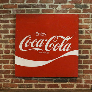 Coca Cola Metal Square Sign
