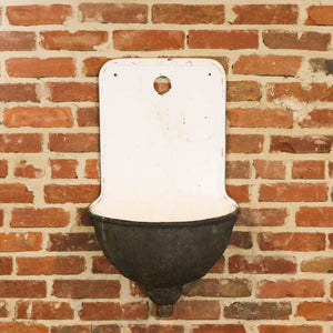 Porcelain Wall Fountain Sink