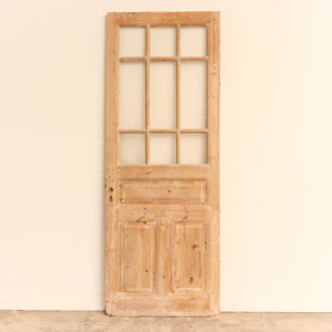 Circa 1860-1910 French or British Door; Origin: Alexandria