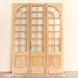 Circa 1860-1910 French or British Door Set; Origin: Alexandria