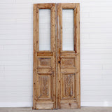 19TH CENTURY EUROPEAN STYLE DOOR PAIR