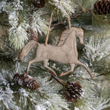 Metal Horse Ornament