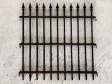 French Tip Rectangular Iron Gate Panel (Small)