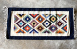 Handwoven Egyptian Wool Rug; 5' x 2'