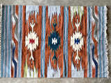 Handwoven Egyptian Wool Rug; 7' x 5'