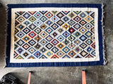 Handwoven Egyptian Wool Rug: 10' x 6'