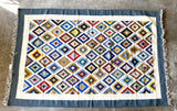 Handwoven Egyptian Wool Rug; 10' x 6'