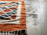 Handwoven Egyptian Wool Rug; 5' x 3'