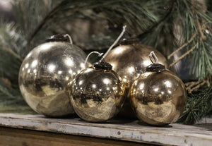 Antiqued Metal Ornament